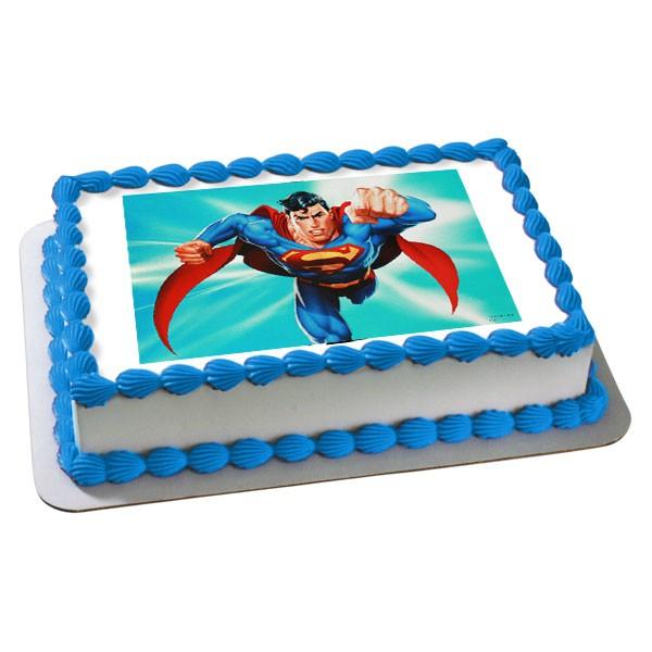 Resimli Superman - Elan Pastanesi