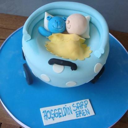 Bebek arabası - Elan Pastanesi