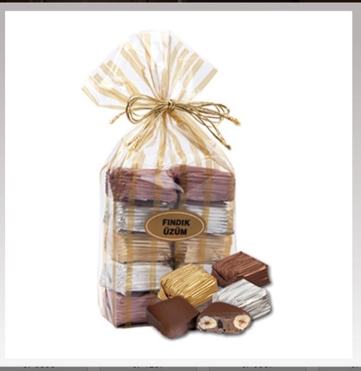 Yaldızlı fındık paket - Elan Pastanesi