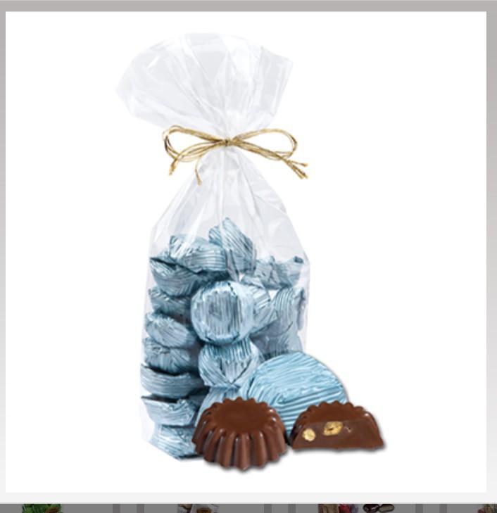 Yaldızlı fıstık mavi paket  - Elan Pastanesi