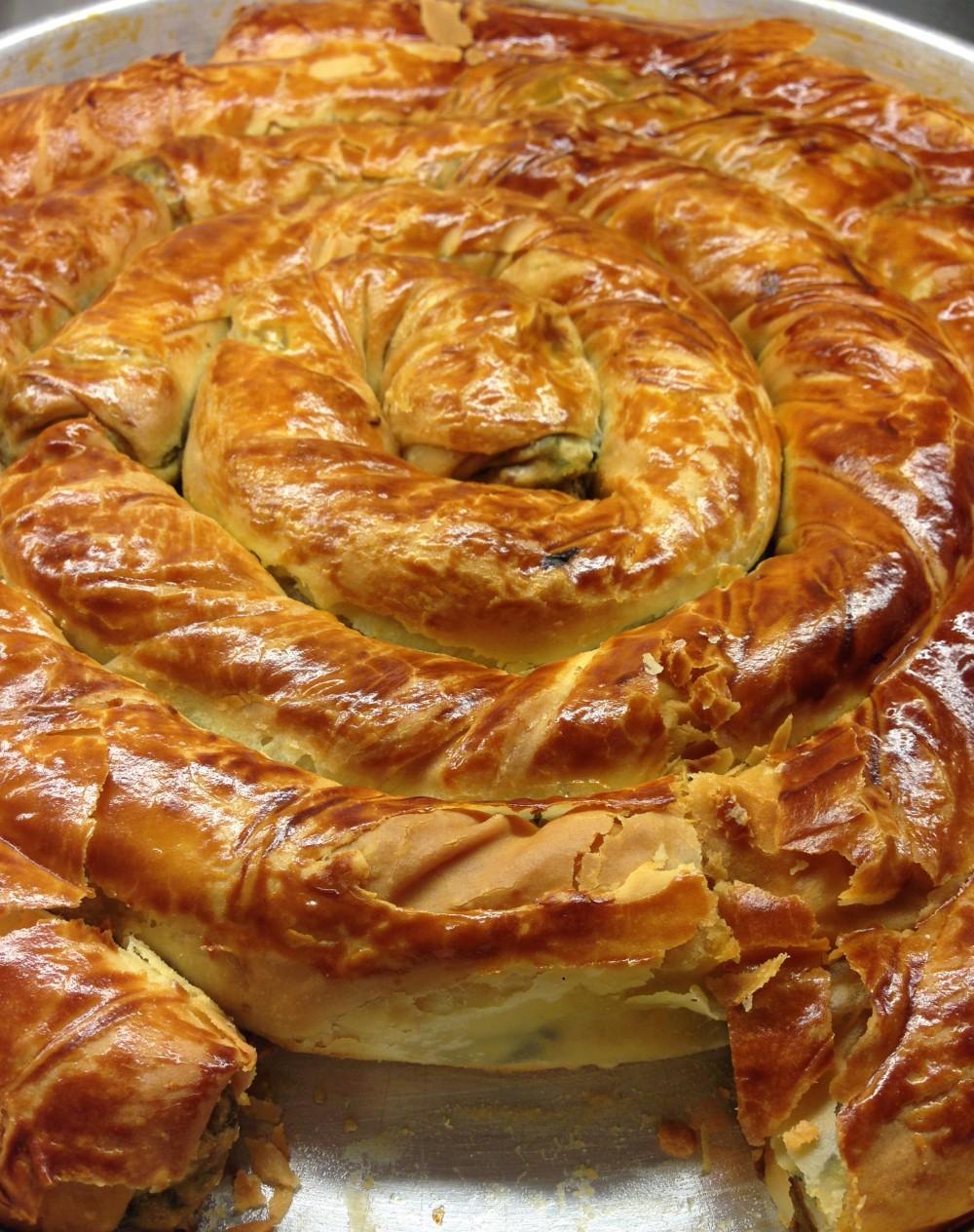 Ispanaklı  dolama  - Elan Pastanesi