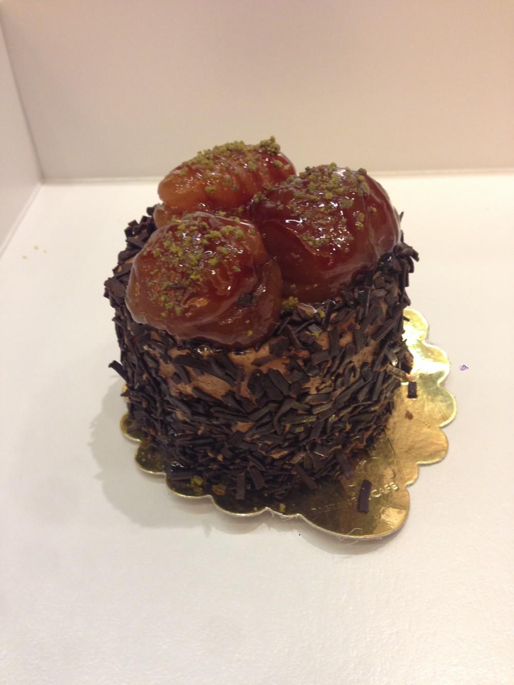 Kestaneli çikolatalı - Elan Pastanesi
