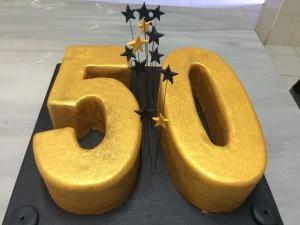 50 yaş pasta